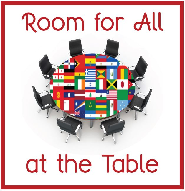 CSC Conference Logo - 'Room for All at the Table'