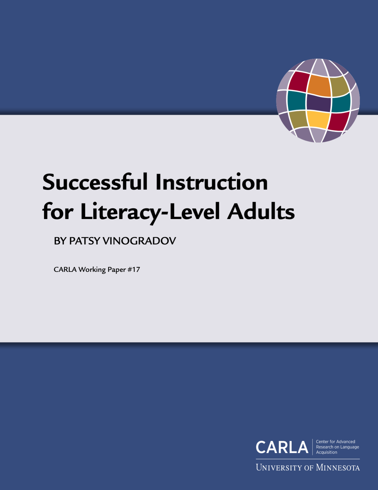 Successful Instruction for Literacy-Level Adults