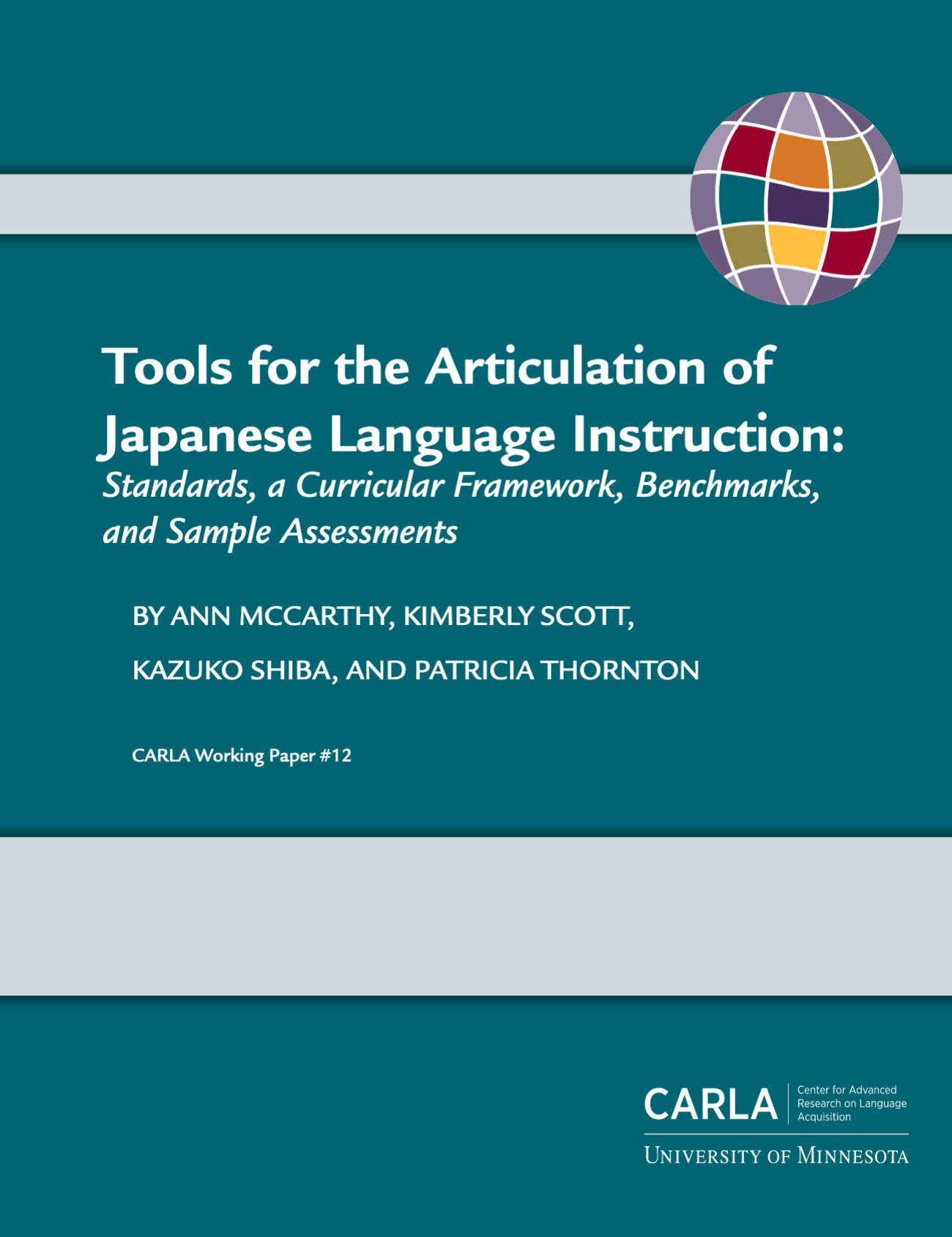 Tools for the Articulation of Japanese Language Instruction