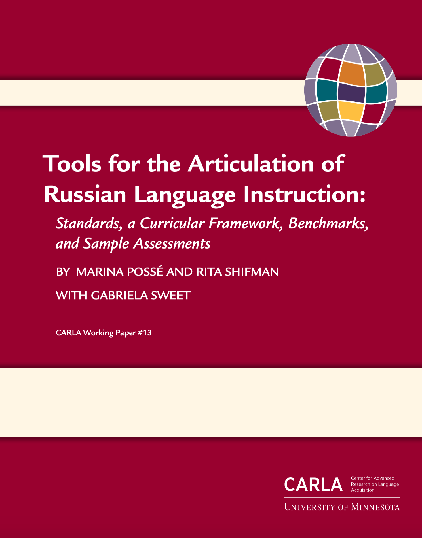 Tools for the Articulation of Russian Language Instruction